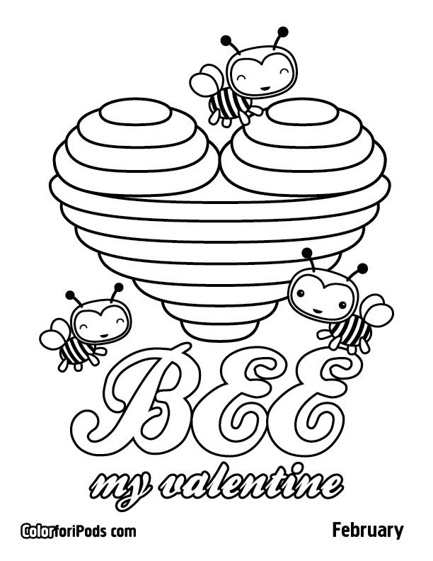 coloring pages february - photo#18