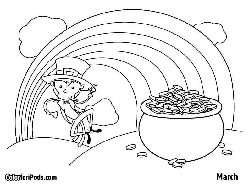 march coloring book pages - photo#2